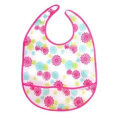 Amazon.com: JJ Cole Large Bib, Pink Blush: Baby