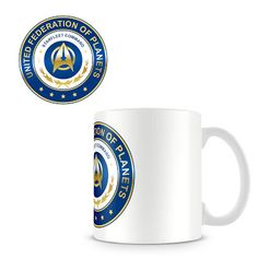 Taza Star Trek Logo Federación   Merchandising Películas