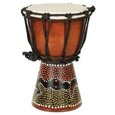 """Djembe Drum- African Percussion Drum, Bongo Hand Drum Professional Sound (12""""), 2016 Amazon Hot New Releases Drums & Percussion  #Musical-Instruments"""