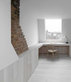 This was a project about making something extraordinary out of the very ordinary. The architects were approached to extend and re-furbish a Victorian terraced house in Shepherd's Bush for a growing family.