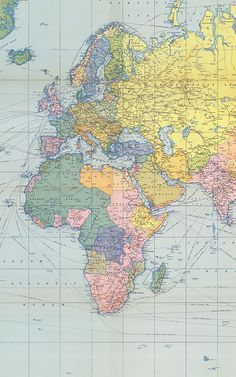 Pastel Vintage Wallpaper Muralswallpaper World Map