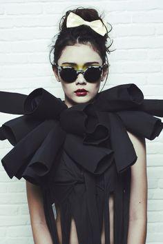 Tiara Westlake by Poppie Mayiesky for NYLON June 2011