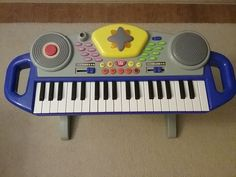 Kid's Electric Piano Keyboard with Stool $5