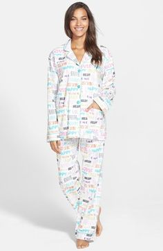 PJ Salvage  Fall into Flannel  Pajamas available at  Nordstrom Flannel  Pajamas 98e0d8352