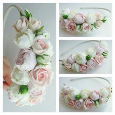 Headband. Handmade flowers. Flowers. Handmade accessories. Wedding accessories. Wedding flowers. Wedding. Hair accessories.