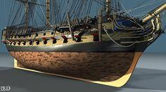 HMS Agamemnon (1781): Update 120 — PRDobson.com
