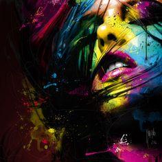 CALIENTE...der französische Künstler Patrice Murciano wurde 1969 in Belfast,Irland geboren zog jedoch später nach Montpellier Frankreich