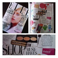 How amazing to be featured in the October issue of #elleusa check us out on page 359! #motivescosmetics