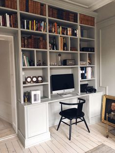 Trendy Home Office Library Ideas Sofas Small Office Decor, Business Office Decor, Home Office Decor, Home Decor, Modern Office Design, Office Interior Design, Office Interiors, Kitchen Interior, Small Home Offices