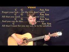 Simple Man (Lynyrd Skynyrd) Fingerstyle Guitar Cover Lesson with Chords/Lyrics - YouTube