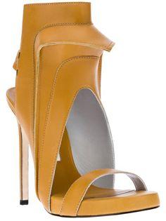 Camilla Skovgaard Cut-Out Sandal Pump - Feathers - farfetch.com