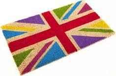 paillasson drapeau Anglais multicolors  29.90 royaledeco.com