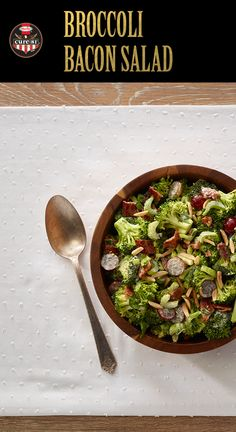 Broccoli Bacon Salad   Adding grapes keeps this Easter side salad light and refreshing   Easter Ideas   Easy Easter Recipes