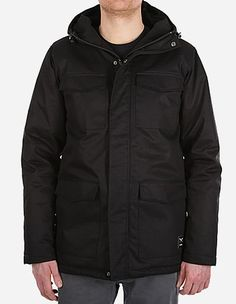 iriedaily - Come What May Parka black