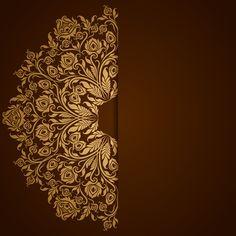 Creative Poster Design, Creative Posters, Graphic Design Art, Web Design, Wedding Invitation Background, Wedding Invitation Vector, Islamic Art Pattern, Pattern Art, Wedding Card Design