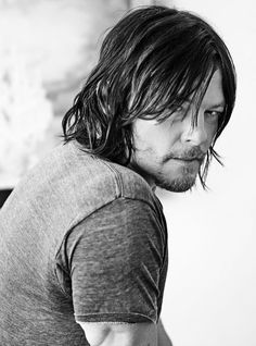 Norman Reedus ~ What can I say? He's a cat lover and that's enough for me!