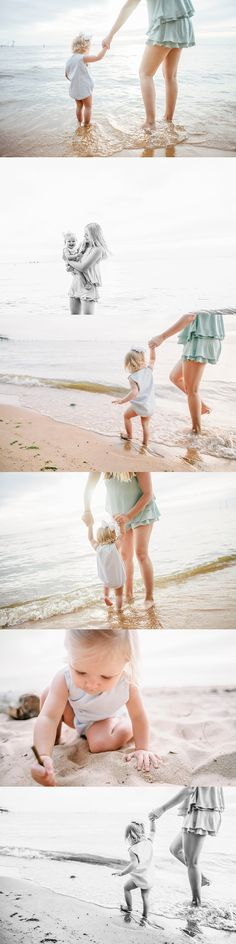 Mommy & Me Session // Detail Shots // Bay Photography // Beach Session // Mobile Bay // Leah Emley Photography