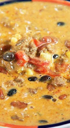 Slow Cooker Cowboy Queso Dip