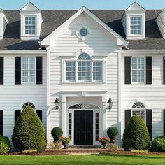 Bevel siding is one of the oldest forms of exterior cladding. More house siding options: http://www.bhg.com/home-improvement/exteriors/siding/house-siding-options/?socsrc=bhgpin082913bevelsiding=5