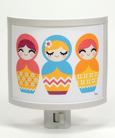 Take a look at this Matryoshka Night-Light by Common Rebels on #zulily today!