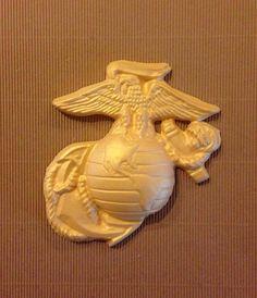 US Marine Corps Insignia - Chocolate Cake Topper