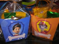 10 Paw Patrol Party Favors by CreativeSmilez on Etsy, $12.99
