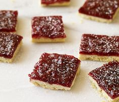 Raspberry Squares - Weight Watchers