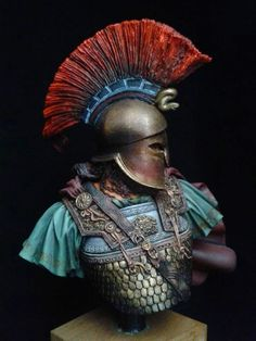General Kimon: Evrymedon river by Theodoros Giannakopoulos · Putty&Paint Greek History, Ancient History, Ancient Greek Sculpture, Ancient Armor, Greek Warrior, Roman Soldiers, Fantasy Miniatures, Ancient Greece, Character Art