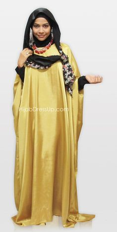 Abaya Fashion, Modest Fashion, Turban, Butterfly Abaya, Hijab Ideas, Islamic Fashion, Abayas, Kaftan, Muslim
