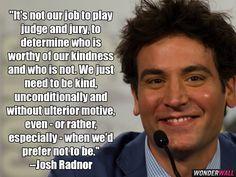 Josh Radnor quote