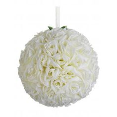 """12"""" Rose Kissing Ball - Floral Supply Syndicate - Floral Gift Basket and Decorative Packaging Materials"""