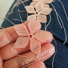 Crochet Butterfly Pattern, Point Lace, Sewing Kit, Needle Lace, Embroidery Stitches, Embellishments, Crochet Earrings, Quilts, Knitting