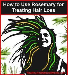 How to Use Rosemary for Treating Hair Loss. We all desire healthy and lush hair, so hair loss or progressive thinning hair can affect us quite bad. Hair loss (alopecia) is more common in men, and can result due to many factors, such as: genetic factors, h Natural Hair Care, Natural Hair Styles, Natural Beauty, Rosemary For Hair, Diy Masque, Regrow Hair, Hair Loss Remedies, Hair Loss Treatment, Hair Treatments