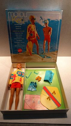 Ken Vintage Sears Surf's Up Giftset w/box