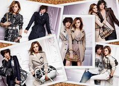 loved Emma Watson in her Fall '09 Burberry campaign