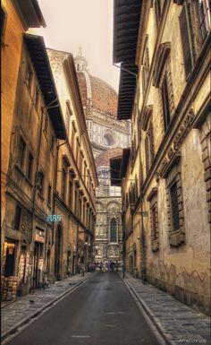 Calles de Florencia.