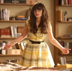 Sorry, nerds, but this is awesome: A whole site dedicated to finding what Zooey is wearing.