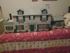 Vintage 50's Marx Metal 2 Story Doll House Very Good Condition | eBay