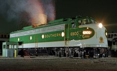 Southern E-8 in Crescent Limited colors.