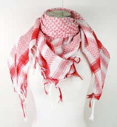 Premium Shemagh Head Neck Scarf - Red/White Tapp Collections http://www.amazon.com/dp/B005B61944/ref=cm_sw_r_pi_dp_DXh0tb0TTJD9NQWM
