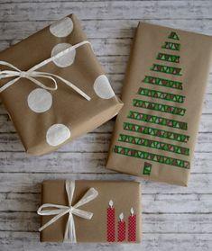 Geschenke verpacken mit Packpapier: drei Ratzfatz-Ideen - #Drei #Geschenke #images #mit #Packpapier #RatzfatzIdeen #verpacken