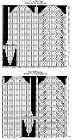 Mitten Chart 4170780_varezhkispicami2 (367x700, 151Kb)