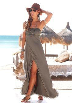 Buffalo London Strandkleid im Online Shop von Ackermann Versand #Sommer #Strandmode #Fashion