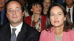 Frrançois Hollande et Segolène Royal