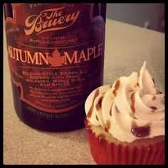 Autumn Maple Sweet Potato Cupcakes