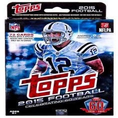 NFL 2015 Topps Football Cards 2015 Football Cards Trading Card Hanger Box