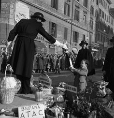 Day of the Epiphany Celebration - Roma 1956    #TuscanyAgriturismoGiratola
