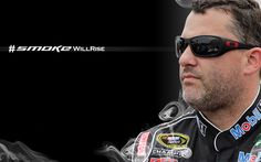 Tony is out for the rest of the 2013 Season. But he will be back in his No. 14 Bass Pro Shops/Mobil 1 Chevy for preseason testing in January 2014! Smoke Will Rise! And I'm With Smoke all the way!! Prayers, thoughts and healing energy being sent his way until we see him on the track again!  ~ Springwolf  8/19
