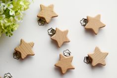 Clips, Handmade Baby, Etsy Shop, Gift, Design, New Babies, Baby Favors, Recyle, Stars
