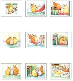 between 5 - 6 years of age, your child should be able to put together a part story and retell it, using pictures! Use these pictures from the 'who sank the boat' story, to encourage your child to order and retell the story! Retelling Activities, Comprehension Activities, Book Activities, Preschool Activities, Sequencing Pictures, Sequencing Cards, Story Sequencing, Preschool Books, Kindergarten Science